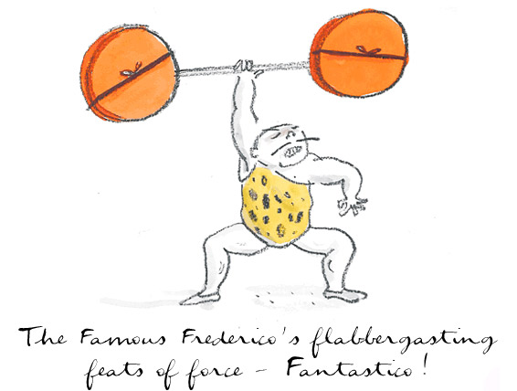 The Famous Federico's flabbergasting feats of force - Fantastico!