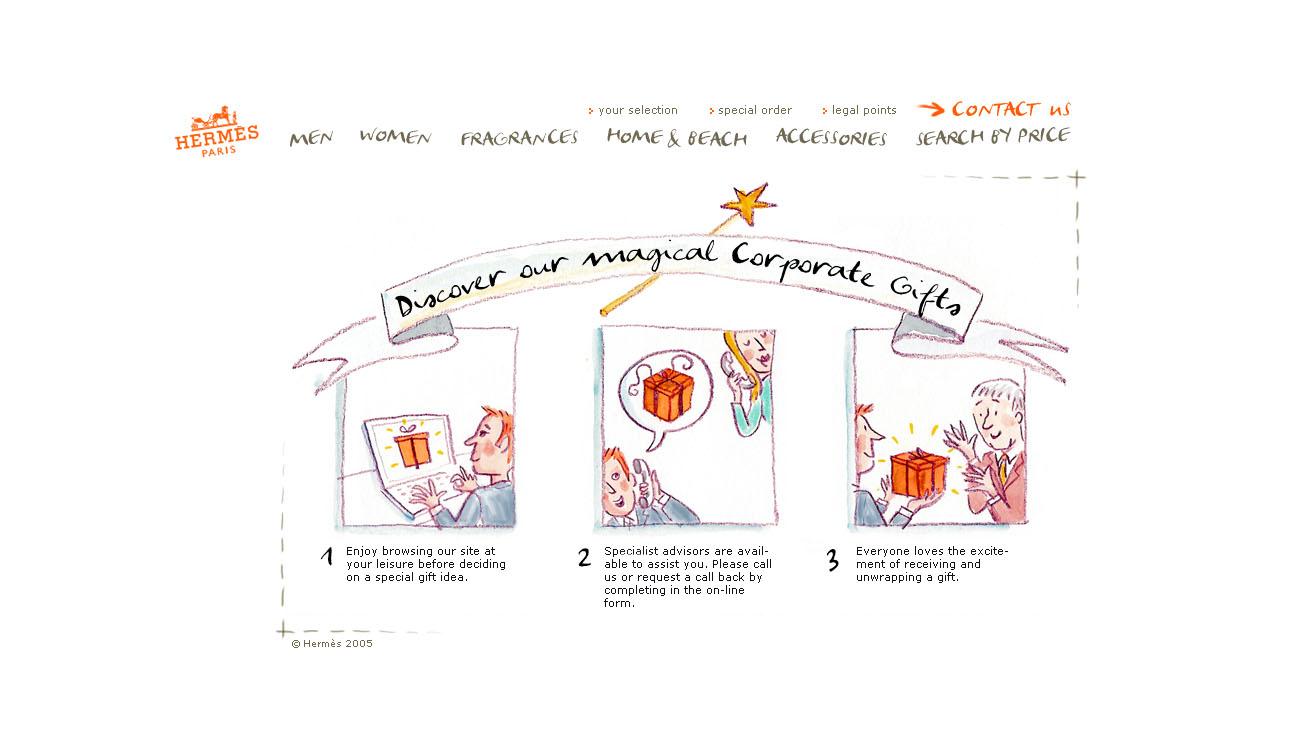 Hermès cadeaux d'entreprise